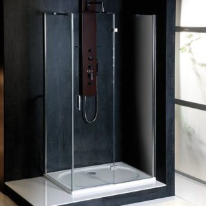 1100x800mm, правая, прозрачное стекло