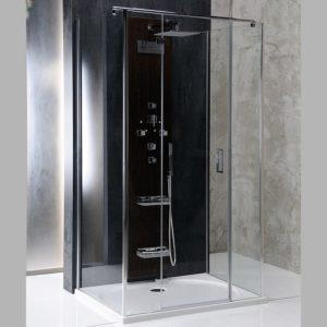 1300x1000mm, левая, прозрачное стекло