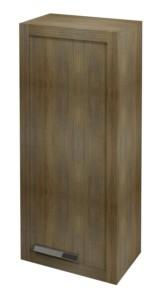 ШКАФЧИК 40x90x25cm, правый, графитовый дуб