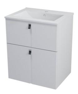ТУМБА С УМЫВАЛЬНИКОМ 59,5x70x45,2 см, белый