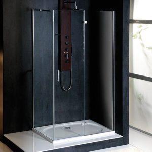 800x700mm, правая, прозрачное стекло