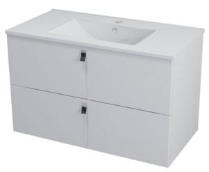 ТУМБА С УМЫВАЛЬНИКОМ 89,5x55x45,2 см, белый
