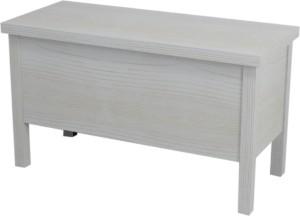 BRAND ЛАВОЧКА 80x46x35cm, ,белый состаренный