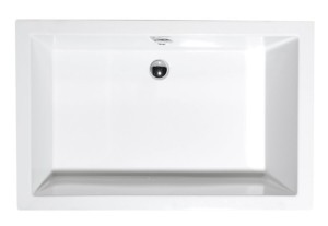 душевая ванночка, прямоугольник 130x75x26cm, белый