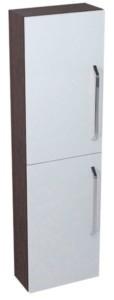 КАЛИ шкафчик высокий 40x140x20cm, венге белый