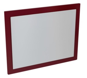 MITRA зеркало в раме 920x720x40mm, бордовый