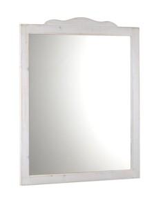 RETRO ЗЕРКАЛО 89x115cm, белый состаренный