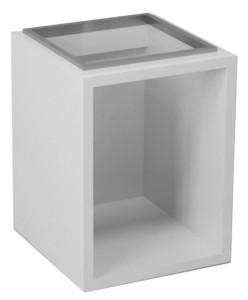 Ящик нижний 40x53x42cm, белый