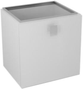 Ящик нижний 53x53x44cm, левая, белый