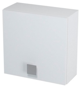 Ящик верхний 40x40x18cm, левая, белый