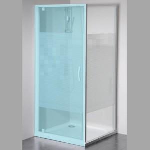 боковая стенка 800 мм, стекло, STRIP