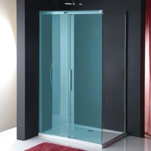 Боковая стена 900мм, прозрачное стекло