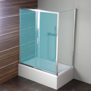 боковые стенки 750x1500 мм, прозрачное стекло