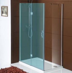 боковые стены 1000mm, прозрачное стекло