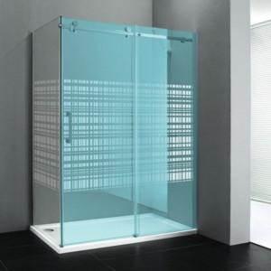 боковые стены 900мм, стекло ХОЛСТ, правой