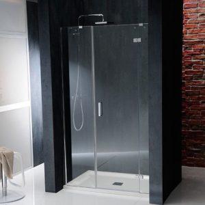душевая дверь 1400mm, правый, прозрачное стекло