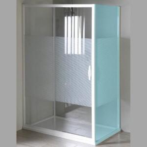 душевые двери раздвижные 1000mm, стекло, STRIP