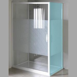 душевые двери раздвижные 1200 мм, стекло, STRIP