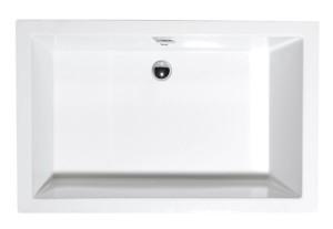 душевая ванночка, прямоугольник 110x75x26cm, белый