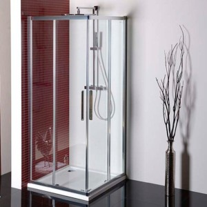 квадратное душ экран 900x900mm, прозрачное стекло