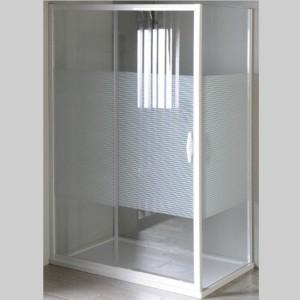душевая кабина 800x900mm Л П вариант, стекло, Strip