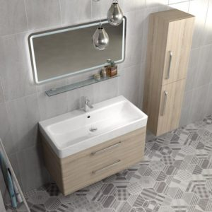 Чешская мебель для ванной комнаты коллекция PURA