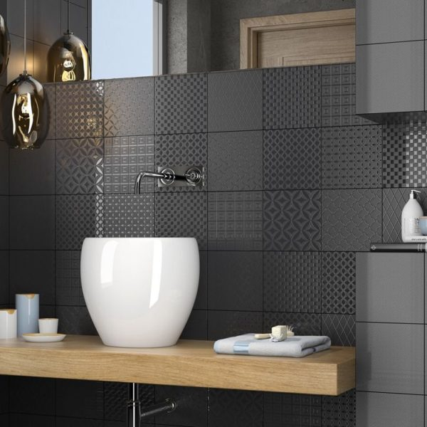 Итальянская плитка Сas коллекция BLACK&WHITE