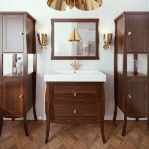 Польская мебель для ванных комнат Defra коллекция BARREL