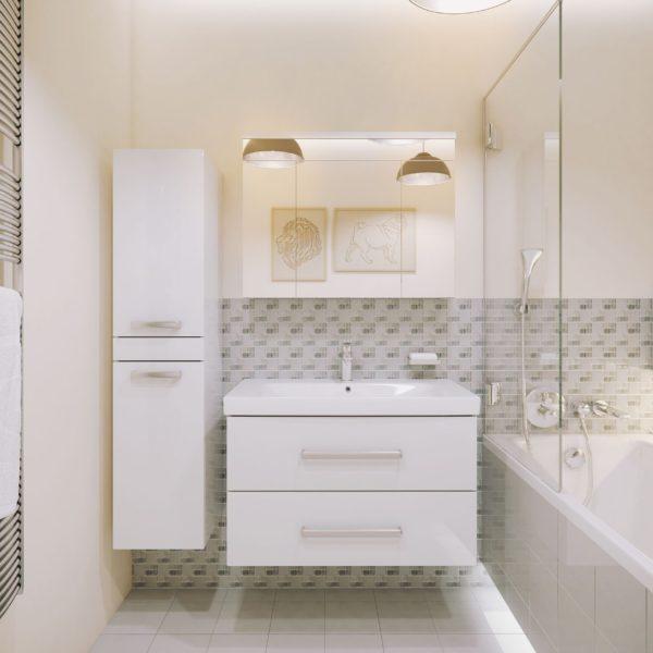 Польская мебель для ванных комнат Defra коллекция СALA