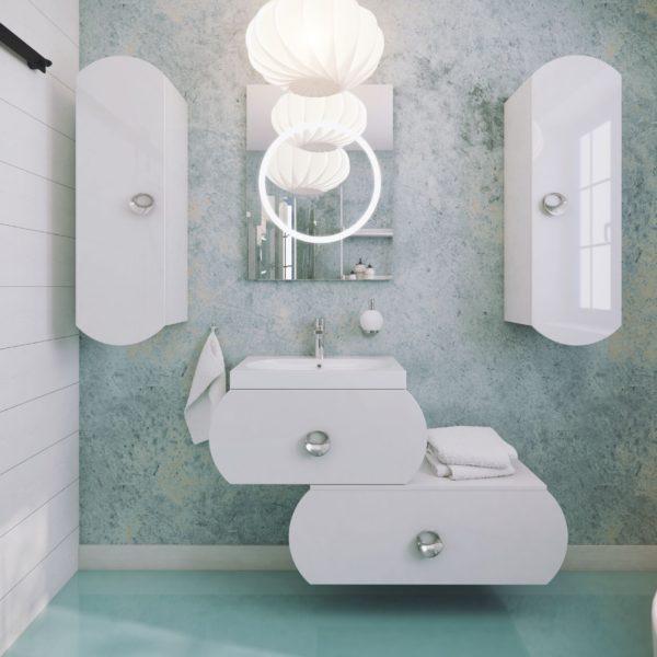 Польская мебель для ванных комнат Defra коллекция INTORNO