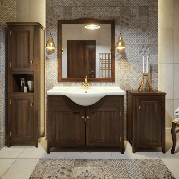 Польская мебель для ванных комнат Defra коллекция KLASIS