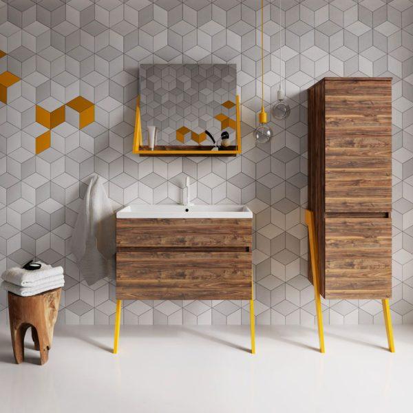 Польская мебель для ванных комнат Defra коллекция OP-ARTT