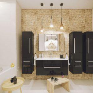 Польская мебель для ванных комнат Defra коллекция OLEX