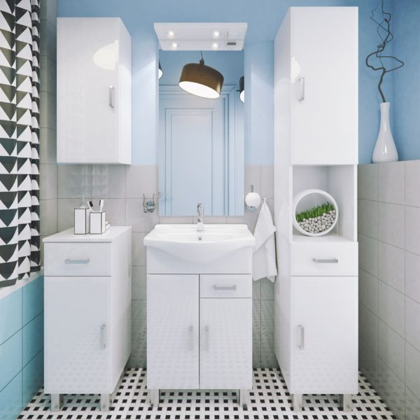 Польская мебель для ванных комнат Defra коллекция ROSTI