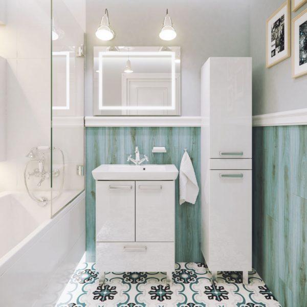 Польская мебель для ванных комнат Defra коллекция CAPRI