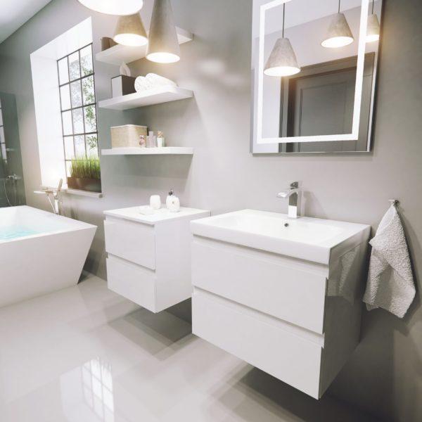 Польская мебель для ванных комнат Defra коллекция COMO