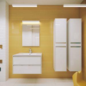 Польская мебель для ванных комнат Defra коллекция FONTE