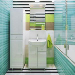 Польская мебель для ванных комнат Defra коллекция JULIA