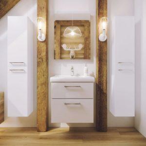 Польская мебель для ванных комнат Defra коллекция LATTE