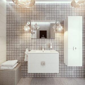 Польская мебель для ванных комнат Defra коллекция LINES