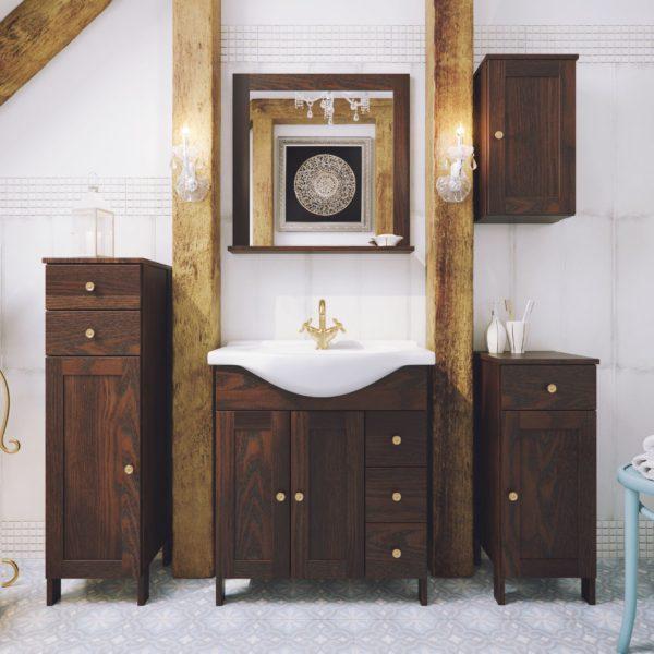 Польская мебель для ванных комнат Defra коллекция MADRYT