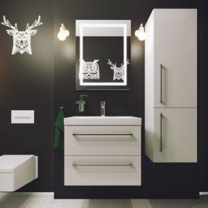 Польская мебель для ванных комнат Defra коллекция TRENTO