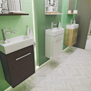 Польская мебель для ванных комнат Defra коллекция VALENCIA