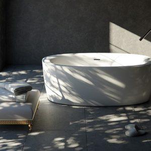 Польская ванна Marmorin коллекция BONA
