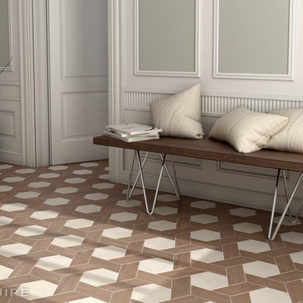 Испанская плитка Equipe коллекция Hexawood