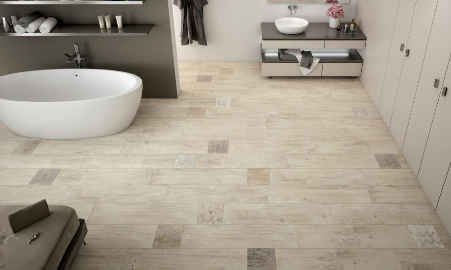 Timber ceramic tiles