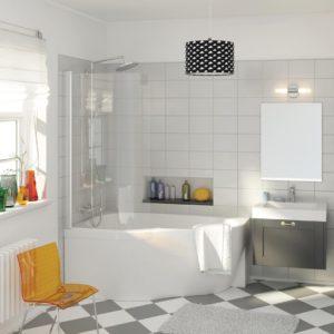 Латвийская акриловая ванна PAA коллекция MAMBO