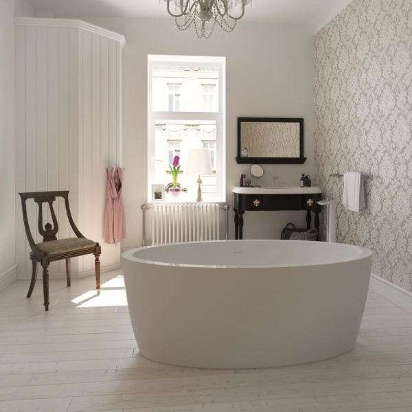 Латвийская акриловая ванна PAA коллекция ARIETTA