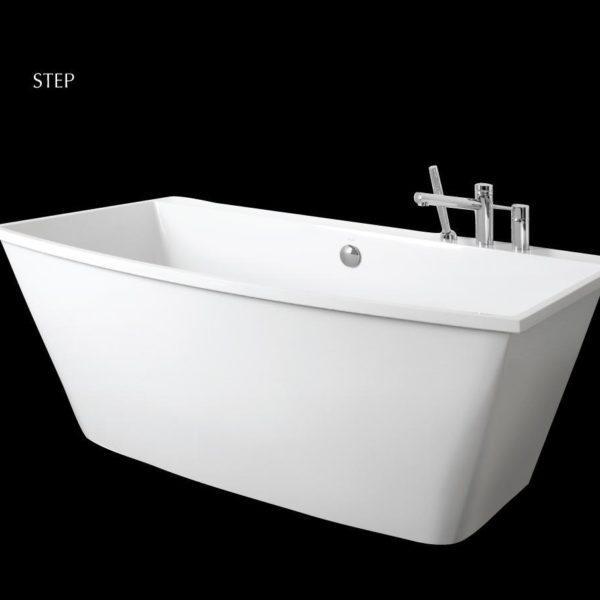 Латвийская ванна из камня PAA коллекция STEP