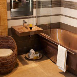 Латвийская акриловая ванна PAA коллекция ACCORD